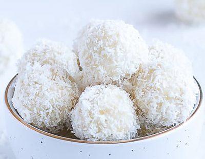 Сурови кокосови бонбони - Рафаело