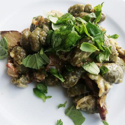 Рецепта - Ньоки с манатарки