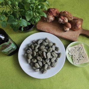 Продукти за рецепта със Ньоки